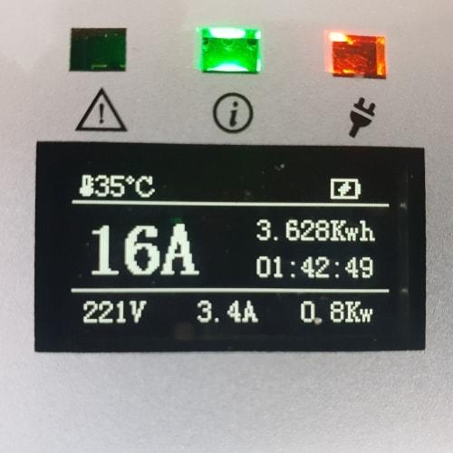 3-EV EVSE Type2 (max. 16A) Polnilni Kabli